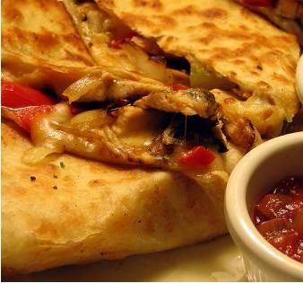 Cheese Chicken Quesadilla