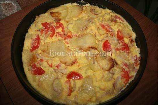 Spanish Omelet ready